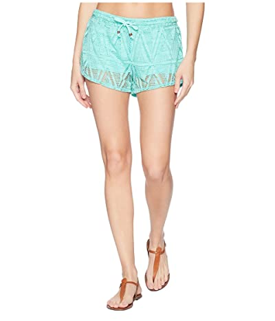 Prana Okana Shorts (Succulent Green) Women