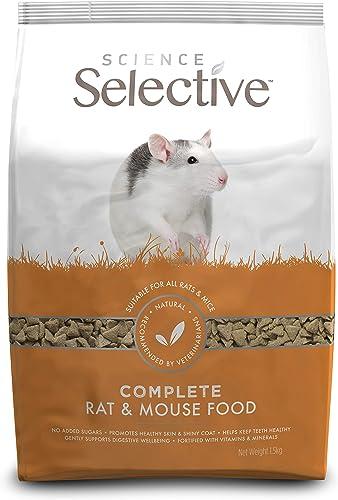 Supreme Petfoods Aliment Complet Rat/Mouse Food pour Petit Animal