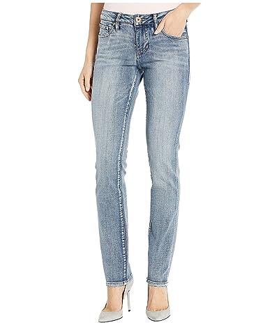 Jag Jeans Gretchen Straight Jeans in Saginaw Blue (Saginaw Blue) Women