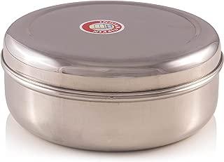 Indian-Tiffin Spice Container - Masala Dabba - 7 Compartments, Airtight