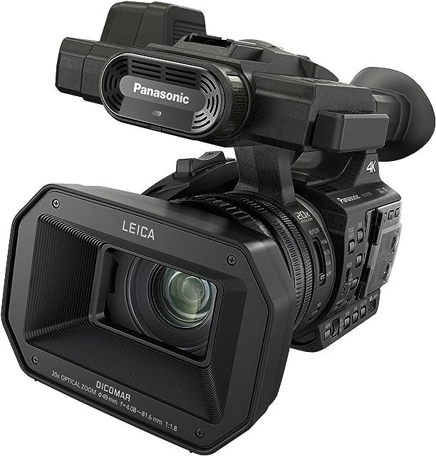 Panasonic HC-X1000E Videocámara Profesional de 20x O.I.S de 5 Ejes F1.8 - F3.6 Zoom 29.5 mm - 600 mm 4K 60p XLR Filtro ND SD Dual 3 Anillos Control Manual HDMI USB Negro