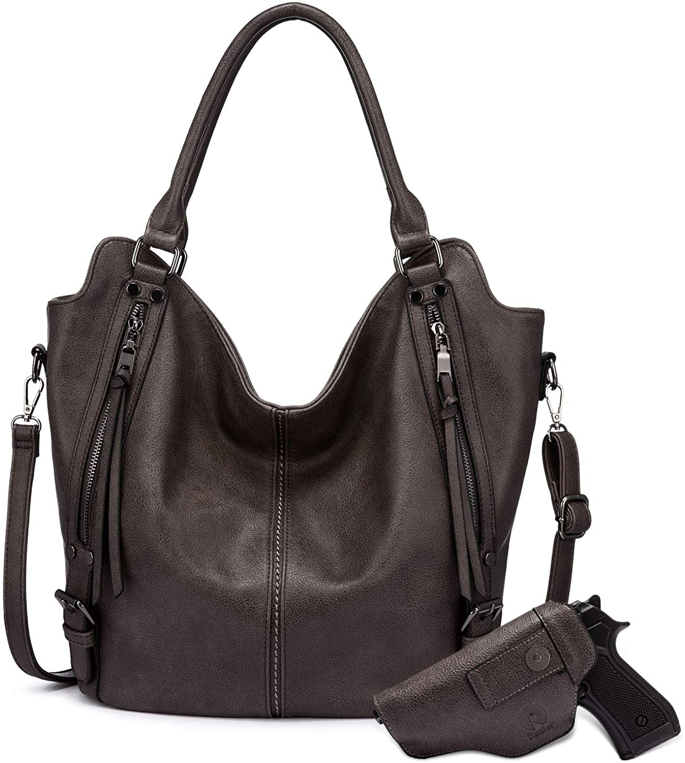 OFFer Concealed Carry Hobo Purse for Crossbody Women Shoulder Leather Popular brand in the world