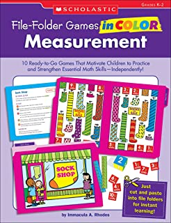 File-Folder Games in Color: Measurement: 10 Ready-to-Go Games That Motivate Children to Practice and Strengthen Essential Math Skills Independently!
