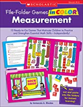 File-Folder Games in Color: Measurement: 10 Ready-to-Go Games That Motivate Children to Practice and Strengthen Essential ...