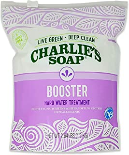 Charlie's Soap Laundry Booster and Hard Water Treatment (1-Pack)…