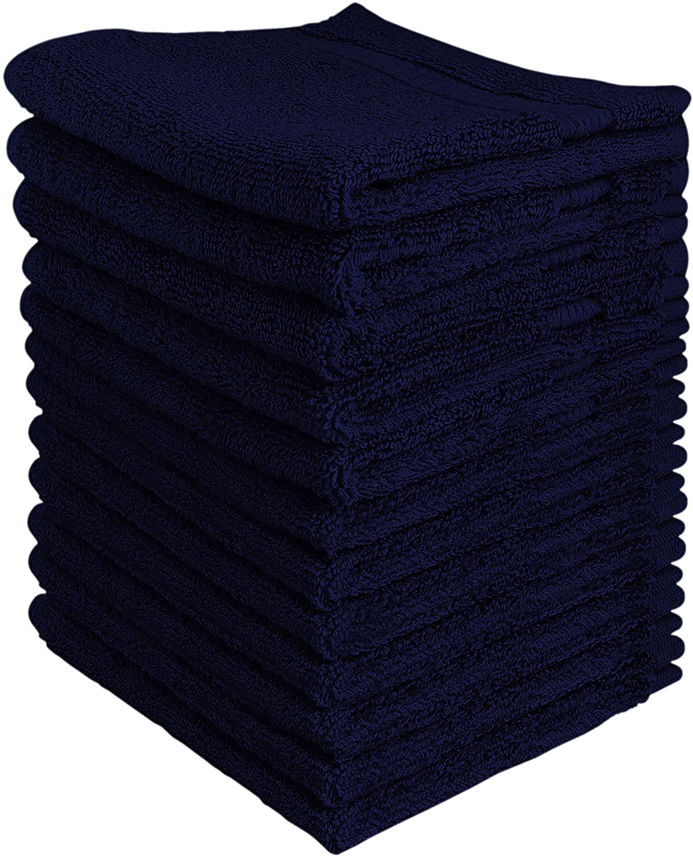 Utopia高級綿100?% Washclothsお手入れ簡単、スパンコットンの柔らかさと吸収性、12パック?–?(13?