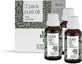 Australian bodycare tea tree oil (3x30 ml) | 100% naturlig Tea Tree olja från Australien | Mot finnar, orenheter och hudpr...