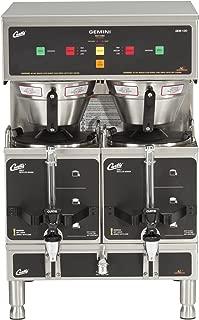 Wilbur Curtis Gemini Twin Coffee Brewer, ADS Digital, 1.5 Gal. - Commercial Coffee Brewer  - GEM-12D-10 (Each)