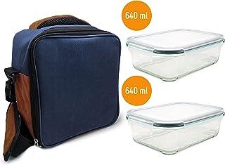 Nerthus Lunch Bag Azul Fiambrera bolsa termica porta