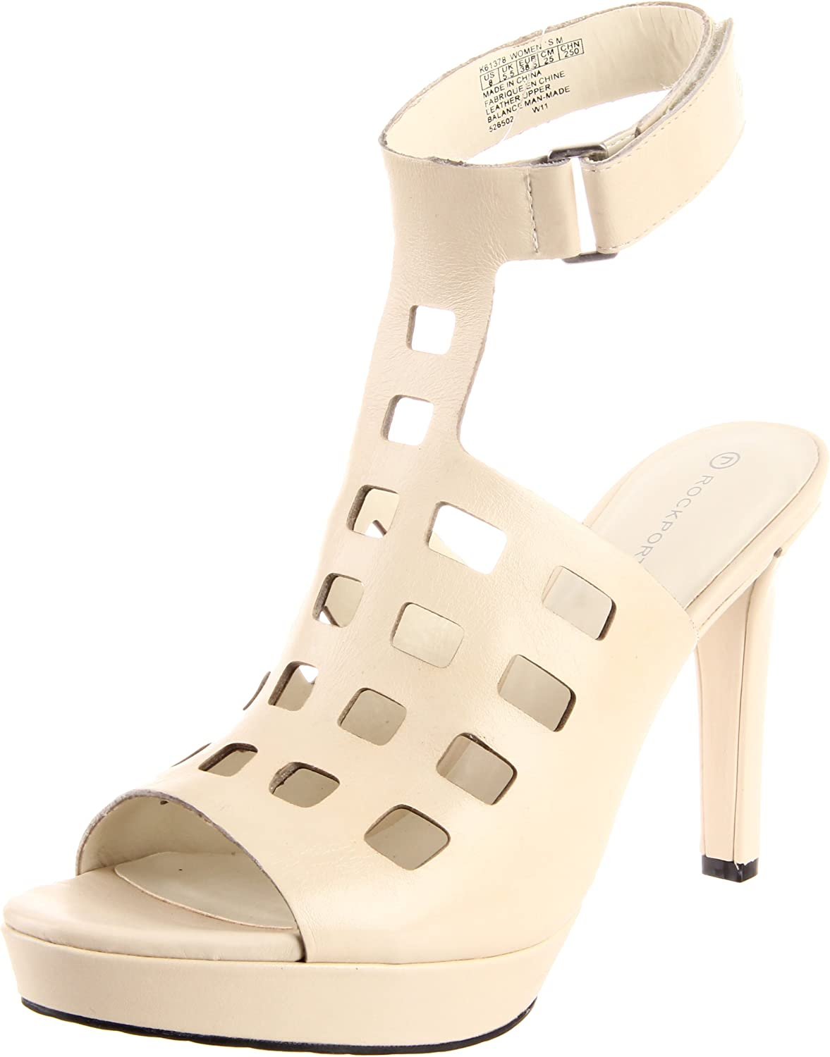 Rockport Women's Janae Square Perforated Sandal