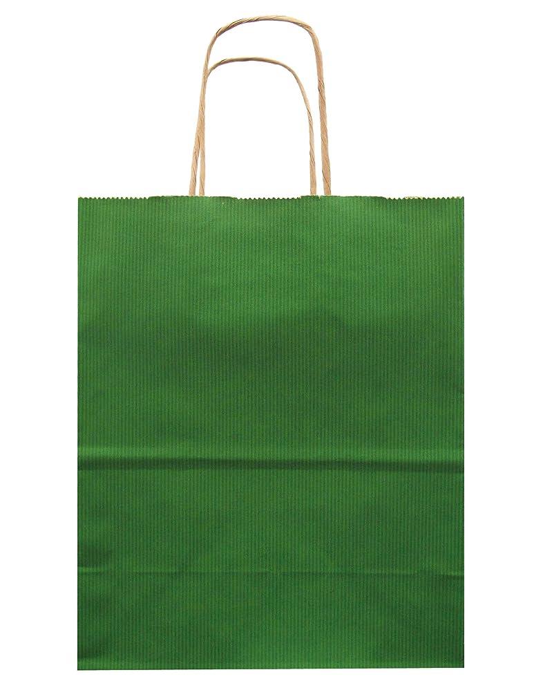 Jillson Roberts Bulk Medium Recycled Kraft Bags Available in 13 Colors, Green, 250-Count (BMK913)