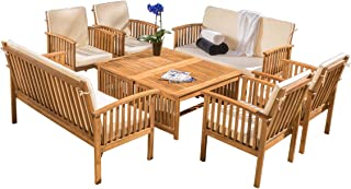 Super Best Wood Garden Sofa Sets Of 2019 Top Rated Reviewed Caraccident5 Cool Chair Designs And Ideas Caraccident5Info
