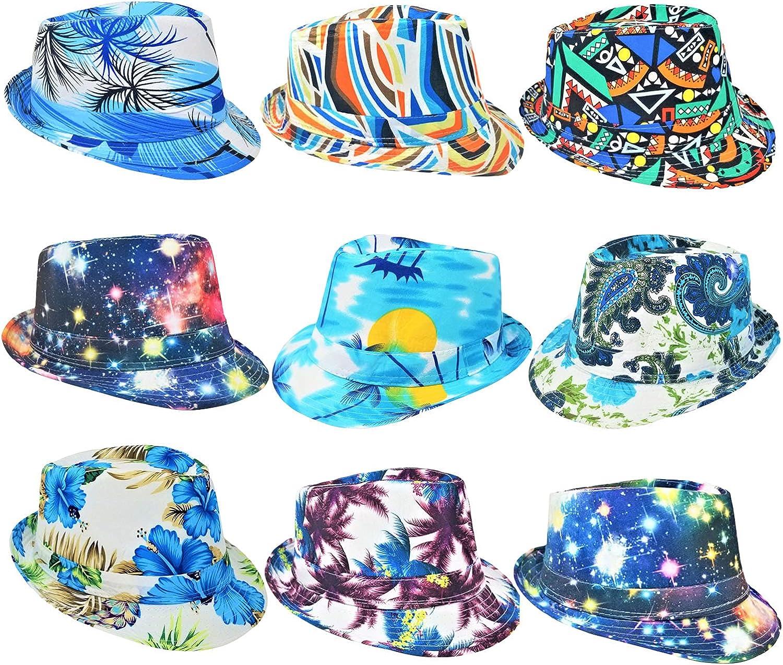 Peri Vallon Assortment Full Color Print Party Hats Wholesale