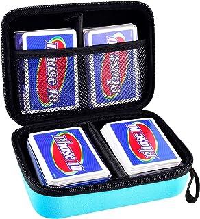 حامل بطاقات متوافق مع لعبة البطاقات المرحلة 10. حقيبة منظمة للبطاقات تناسب أكثر من 400 بطاقة. صندوق تخزين البطاقات يناسب ب...