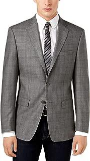 Men's Slim-Fit Windowpane Sport Coat