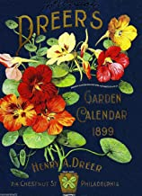 A SLICE IN TIME 1899 Philadelphia Pennsylvania Dreer's Garden Vintage Flowers Seed Packet Catalogue Travel Advertisement Collectible Wall Decor Poster Print. Measures 10 x 13.5 inches