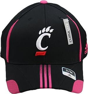 9de914d2eb adidas Cincinnati Bearcats Breast Cancer (BCA) Awareness Adult Climalite  Flex Fit Black/Pink