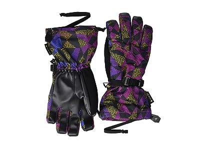 Burton Kids GORE-TEX(r) Glove (Little Kid/Big Kid) (True Black Morse Geo) Extreme Cold Weather Gloves