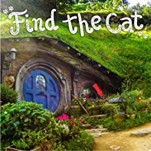 Piccadilly Find the Cat Puzzle Book | Picture Hunt Game Book for Adults & Children | 100 pages