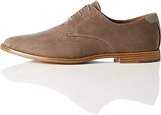 Hombre Amazon esGris Zapatos Cordones De Para ul1KJFc3T