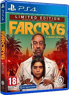 Far Cry 6 Limited Edition Ps4 - Esclusiva Amazon - Playstation 4