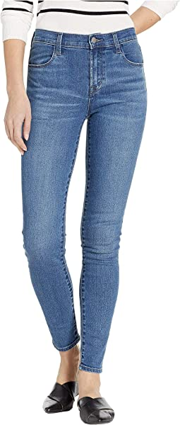 Maria High-Rise Skinny in Polaris