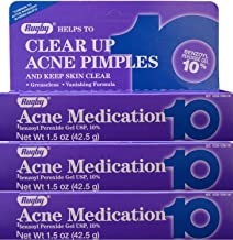 Rugby Acne Medication 10% 42.5 gm (Pack of 3)