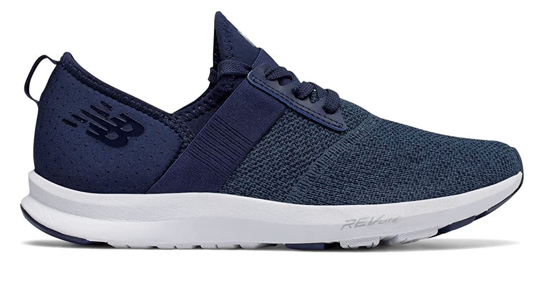 寂しい黒くする削減(ニューバランス) New Balance 靴?シューズ レディーストレーニング FuelCore NERGIZE Pigment with White ピグメント ホワイト US 7.5 (24.5cm)
