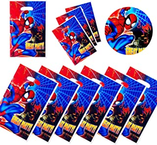 NB Spiderman gift bags Spiderman Themed party decoration 30pc birthday party decoration