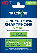 Tracfone - Bring Your Own Phone GSM 3-in-1 Sim Card Kit (4G LTE) -at&T Compatible