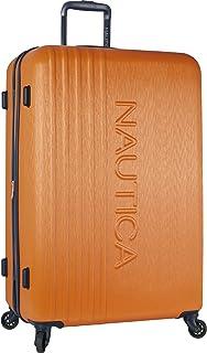 Nautica Hardside Spinner Wheels Luggage-28 Inch Expandable Large Suitcase