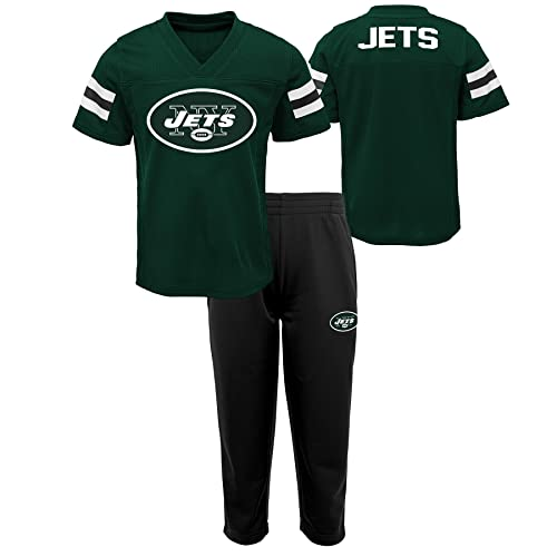 7fcd73be124 Outerstuff NFL Boys Toddler Training Camp Short Sleeve Top   Pant Set