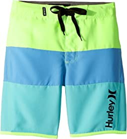 Hurley Kids - Triple Threat Boardshorts (Little Kids)