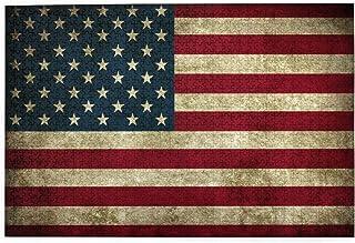 Wandbild Amerika USA Flagge Fahne Edelstahl