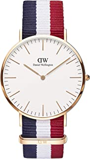 Daniel Wellington Men's Classic Cambridge, Rose Gold, 40mm