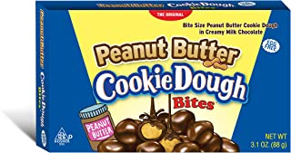 Cookie Dough Bites, Peanut Butter, 3.1 Ounce (Pack of 12)