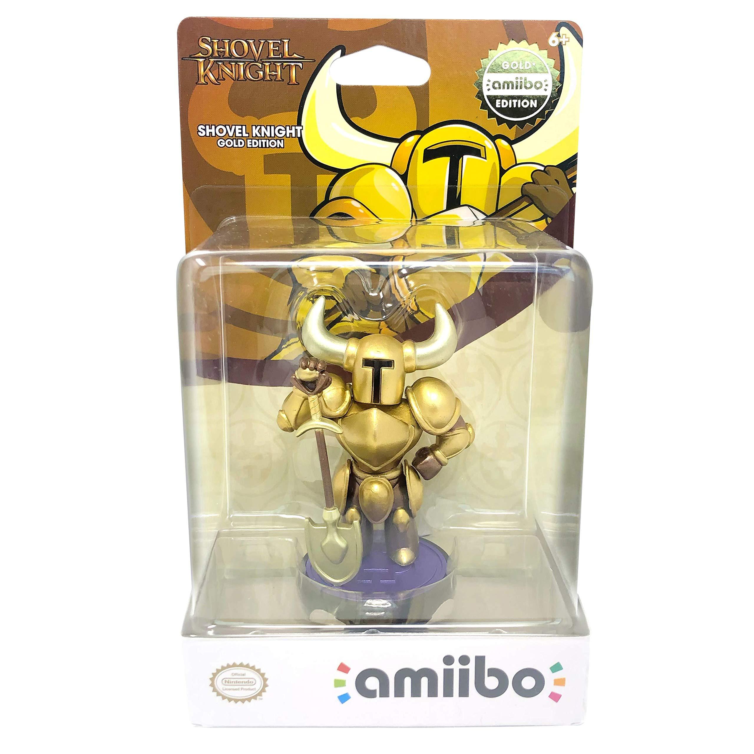 U&I Entertainment - Shovel Knight Gold Amiibo, Dorado (Nintendo ...