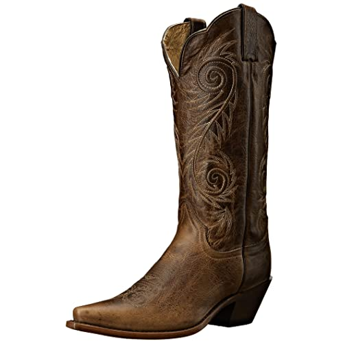 edd57167ef7 Leather Cowgirl Boots: Amazon.com