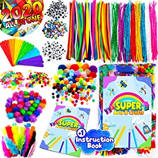 InnoRock Arts and Crafts Supplies for Kids - Assorted Craft Art Supply Kit for Toddlers Age 4 5 6 7 8 9 - Large All in One...