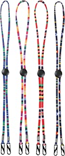 Multifunction Face Mask Lanyard with Clips, Mask Gl Lanyard Unisex Mask Strap,Anti-lost Mask Leash,Suitable for Men Women ...