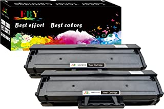 EBY Compatible Replacement Toner Cartridge Replacement for Samsung MLT-D111S ( Black , 2 pk )