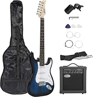 """Best ZENY 39"""" Full Size Electric Guitar with Amp, Case and Accessories Pack Beginner Starter Package, Blue Ideal Christmas Thanksgiving Holiday Gift Review"""