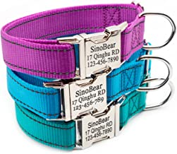 small dog collars with name