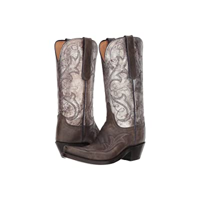 Lucchese Tansy (Anthracite/Pewter) Cowboy Boots