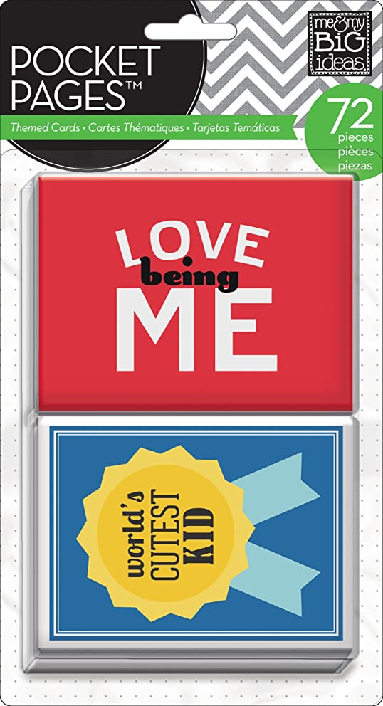 me & my BIG ideas Pocket Pages Journaling Cards, A Kid's Life