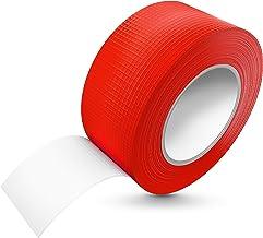 Tapefix Pantsertape, 50 m x 48 mm, rood, waterbestendig, extreme kleefkracht, corrigeerbare pantserband, handscheurbaar, g...