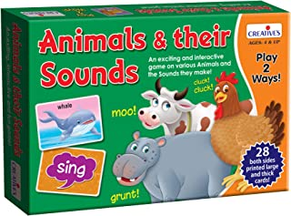 Creative's Animals & their Sounds - Learn Animals & the Sound they make!
