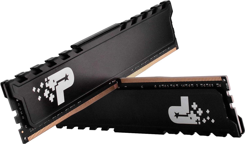 Patriot Memory S/érie Signature Premium Kit de m/émoire DDR4 3200 MHz PC4-25600 16Go C22 2x8Go PSP416G3200KH1