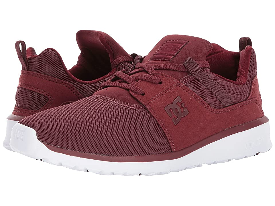 DC Heathrow (Burgundy) Skate Shoes