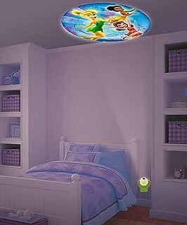 New Set Baby Fall Asleep Fast Crib Bed LED Light Soft Dream Light Fairy Tail Disney Disney Fairies Projectables LED Plugin Night Light - Tinkerbell Iridessa Bedroom Wall Decor Projector